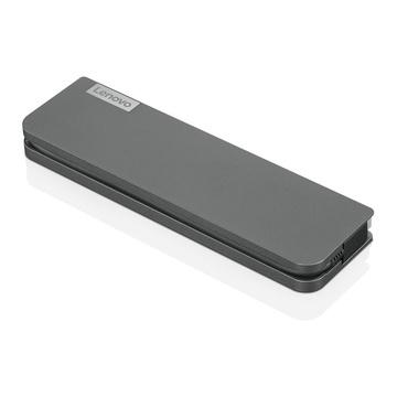 Lenovo USB-C Mini Dock Cablato USB 3.2 Gen 1 Type-C Grigio