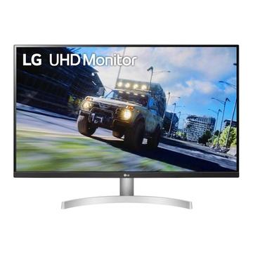 """LG 32UN500-W 31.5"""" 4K Ultra HD Nero, Bianco"""