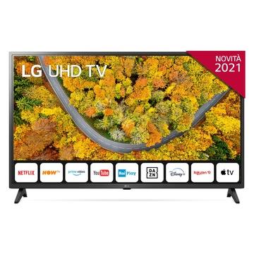"""LG 43UP75006LF 43"""" 4K Ultra HD Smart TV Wi-Fi Grigio"""