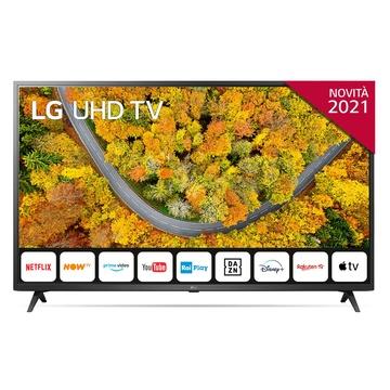"""LG 55UP75006LF 55"""" 4K Ultra HD Smart TV Wi-Fi Grigio"""