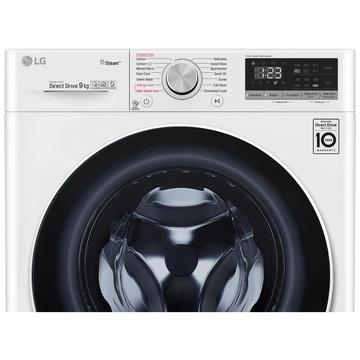 LG F4WV509S0 - Lavatrice Caricamento frontale 9 kg 1400 Giri/min A+++ Bianco