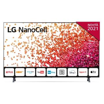 """LG NanoCell 55NANO756PA 55"""" Smart TV 4K Ultra HD NOVITÀ 2021 Wi-Fi Processore Quad Core AI Sound"""