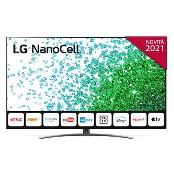 "LG NanoCell NANO81 50NANO816PA 50"" 4K Ultra HD Smart TV Wi-Fi Grigio"