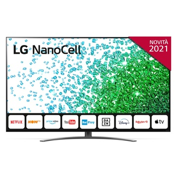 "LG NanoCell NANO81 55NANO816PA 55"" Smart TV 4K Ultra HD Wi-Fi Quad Core AI Sound"