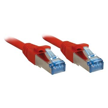 LINDY 20m Cat.6A S/FTP cavo di rete Rosso Cat6a S/FTP (S-STP)