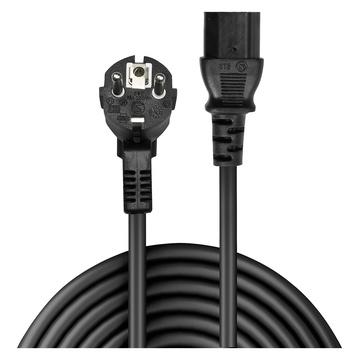 LINDY 30334 cavo di alimentazione Nero 0,7 m Spina di alimentazione di tipo A IEC C13