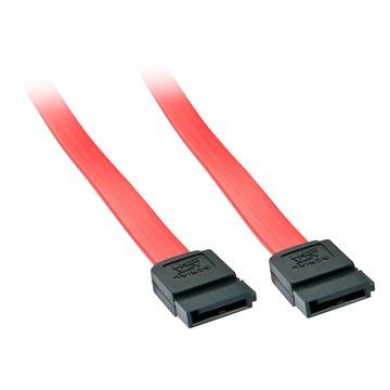 LINDY 33323 0.2m SATA 7-pin SATA 7-pin Rosso cavo SATA