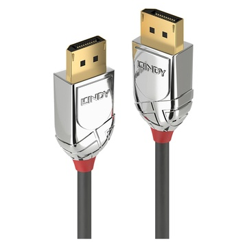 LINDY 36304 5m DisplayPort DisplayPort Grigio cavo DisplayPort