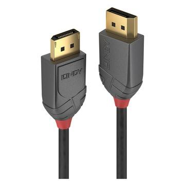 LINDY 36480 cavo DisplayPort 0,5 m Nero