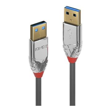 LINDY 36626 cavo USB 1 m USB A Grigio