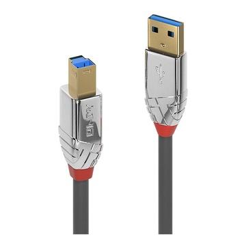 LINDY 36662 USB 3.2 Gen 1 USB A - USB B Grigio
