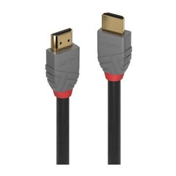 LINDY 36961 cavo HDMI 0,5 m HDMI tipo A (Standard) Nero, Grigio