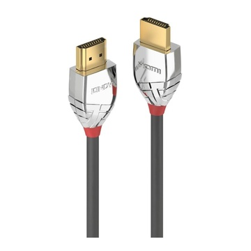 LINDY 37872 2m HDMI Type A (Standard) HDMI Type A (Standard) Grigio, Argento cavo HDMI