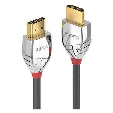 LINDY 37876 10m HDMI Type A (Standard) HDMI Type A (Standard) Grigio cavo HDMI