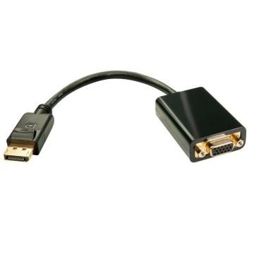 LINDY 41006 Adattatore displayport a VGA