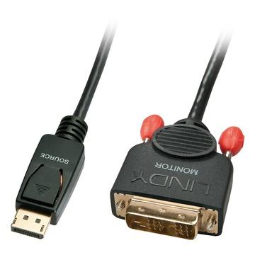 LINDY 41489 cavo di interfaccia e adattatore Display port DVi-D Nero