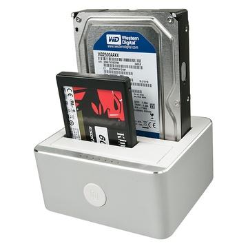 LINDY 43231 docking station per unità di archiviazione USB 3.1 (3.1 Gen 2) Type-C Alluminio