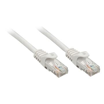 LINDY 48401 1m Cat5e U/UTP (UTP) Grigio cavo di rete