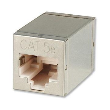 LINDY 60187 cavo di interfaccia e adattatore RJ45 Metallico