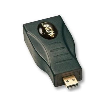 LINDY Adapter HDMI Mini/Micro HDMI Micro Nero
