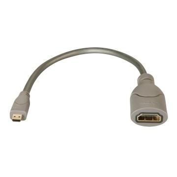 LINDY Adattatore da HDMI A MICRO HDM