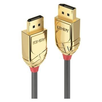 LINDY CAVO DISPLAYPORT 1.4 GOLD LINE, 1M