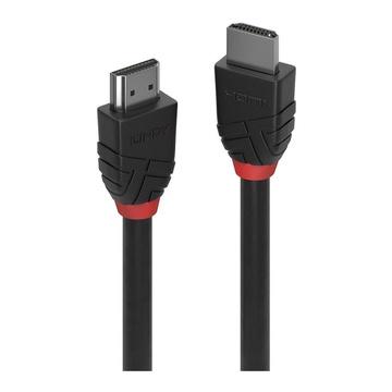 LINDY CAVO HDMI HIGH SPEED BLACK LINE, 1M