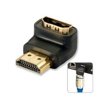 LINDY HDMI 90° HDMI HDMI Nero cavo di interfaccia e adattatore