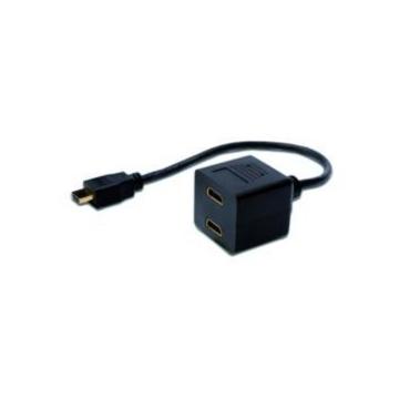 LOGI ADATTATORE SPLITTER HDMI (TIPO-A M) - 2X HDMI (TIPO-A F) 20CM