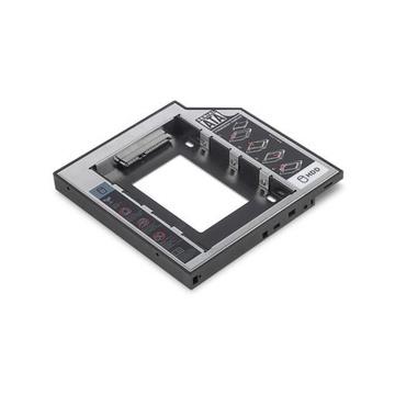 """LOGI ASSMANN Electronic DA-71109 2.5"""" Enclosure HDD/SSD Nero, Grigio"""