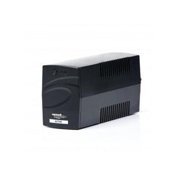 MACHPOWER UPS-LIT80P A linea interattiva 800 VA 390 W 2 presa(e) AC