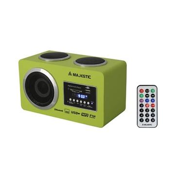 MAJESTIC BT-273USB/SD Bluetooth 2,4W Verde