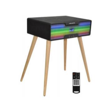 MAJESTIC TS-51CD/BT/USB/AX Tavolino Multimediale 160W Con e Senza Cavo Nero