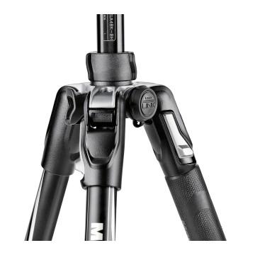 Manfrotto Befree Advanced nero in alluminio con chiusura Twist