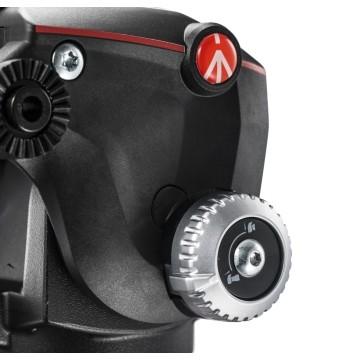 Manfrotto Testa fluida video 2 vie Xpro alluminio con QR