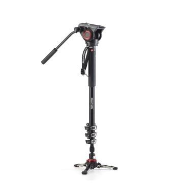 Manfrotto Monopiede video Xpro Plus con testa MVM500A e base fluida