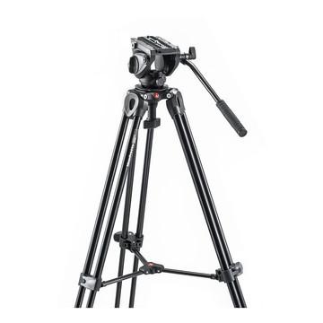 Manfrotto Kit 500, treppiede telescopico a doppio tubo MVT502AM con sacca per il trasporto