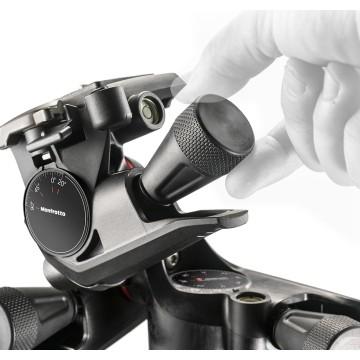 Manfrotto Testa a tre movimenti con controllo micrometrico