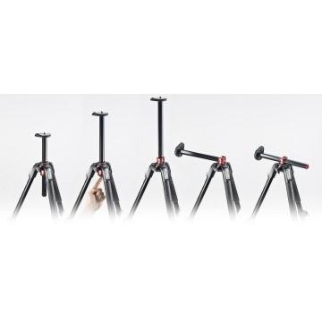 Manfrotto Kit serie 190 a 3 sezioni alluminio con testa a 3 vie