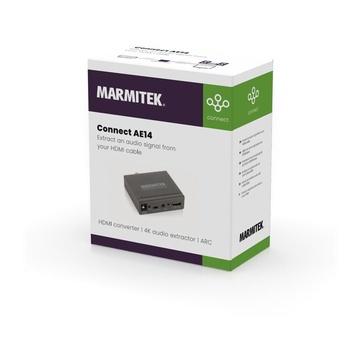MARMITEK Connect AE14 convertitore audio Nero