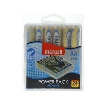Maxell 24x LR6 AA Batteria monouso Stilo AA Alcalino
