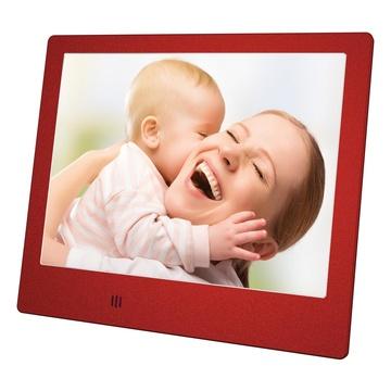 "MEDIACOM M-PFS8R cornice per foto digitali 20,3 cm (8"") Rosso"