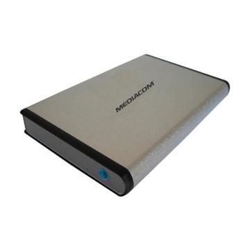 MEDIACOM Mobile Data Bank Argento Alimentazione USB