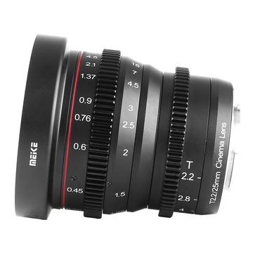 Meike Cine 25mm t/2.2 Fuji X