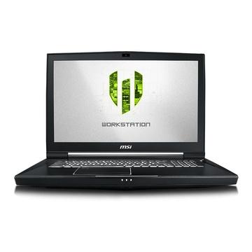 """MSI WT75 9SL-086IT i7-9700K 17.3"""" FullHD Quadro P4200 da 8GB"""