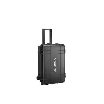 Nanlite Forza 60 Kit 2 pz con Trolley, Riflettore e Lente Fresnel
