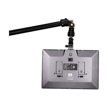 LuxPad 58 LED 5600K 3012 LM + 2 Plate Per LP-E6 + Alimentatore