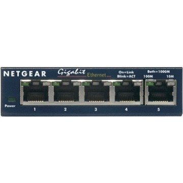 Netgear 5 porte Copper Gigabit Base-T Nero GS105GE