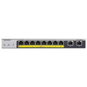 Netgear GS110TPP Gestito L2/L3/L4 Gigabit Grigio PoE