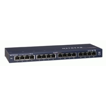 Netgear GS116GE 16 porte 10/100/1000